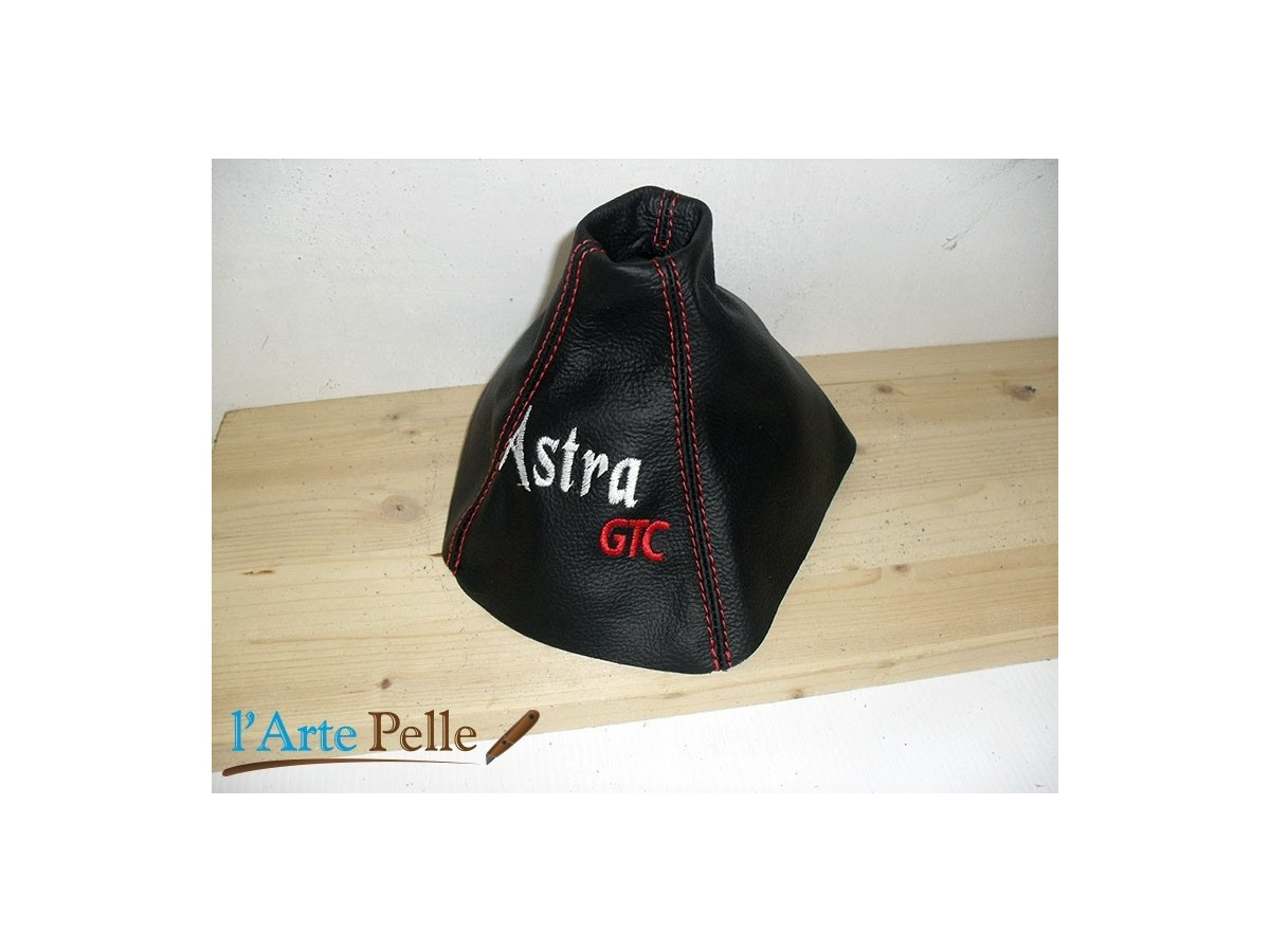 Vauxhall astra h gear shift gaiter with customised embroidery