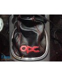 Vauxhall Corsa D gearshift gaiter with OPC embroidery