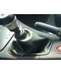 Laguna Grandtour 2 Renault cuffia cambio vera pelle grigia antra