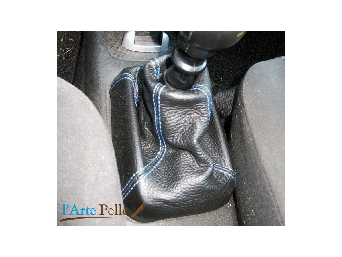 Vauxhall Tigra from 1994 onwards real black leather gearshift gaiter