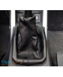 real black leather gearshift gaiter Vauxhall Tigra Twin Top