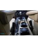 Land Rover Freelander 2 real black leather gearshift and handbrake gaiter