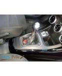 Alfa romeo GIULIETTA real charcoal grey leather gearshift gaiter + embroidery