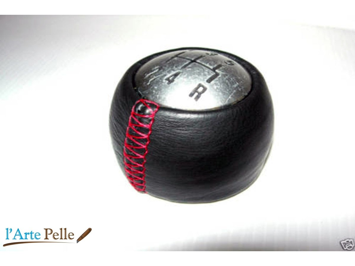 CUSTOMISED REAL LEATHER GEAR KNOB COVER for 156 166 147 GT