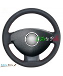 real leather steering wheel cover for Dacia Duster