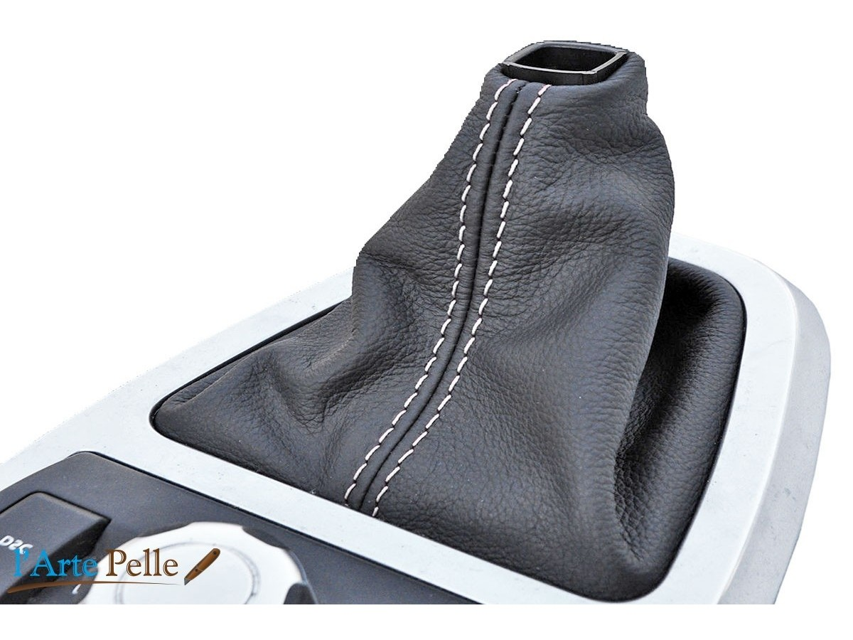 real black leather gearshift gaiter Land Rover Freelander from 2006 to 2012