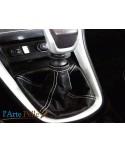 cuffia leva cambio nuova Lancia Delta pelle 244 nera